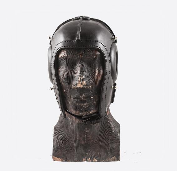 321 Steampunk Art Leather Gas Mask