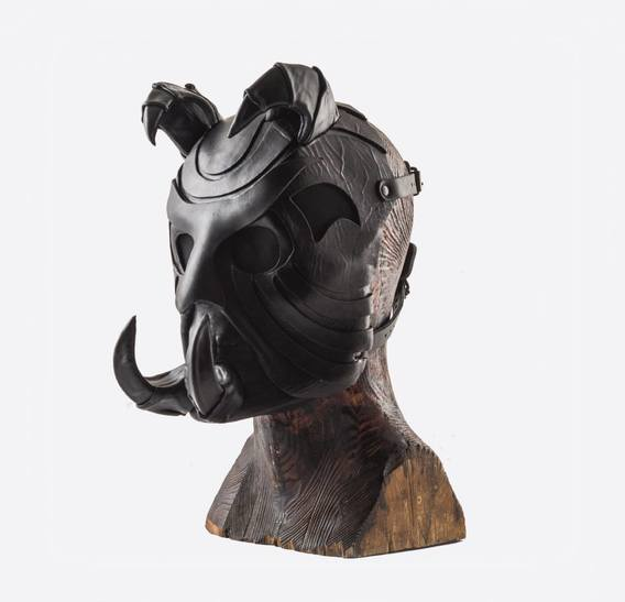 Mr. Clawhorn Art Leather Mask