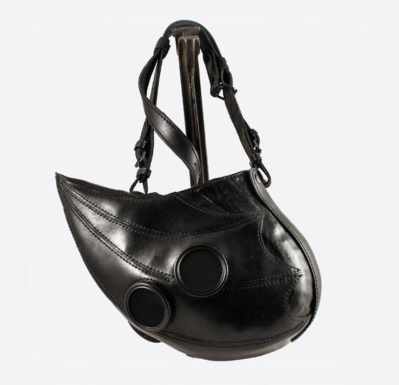 ΣΑΛΩΜΗΣ bag Black Plague Doctor Art Leather Mask