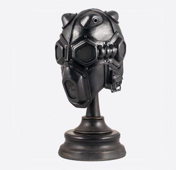 ΣΑΛΩΜΗΣ bag Deathwisher Leather Gas Mask