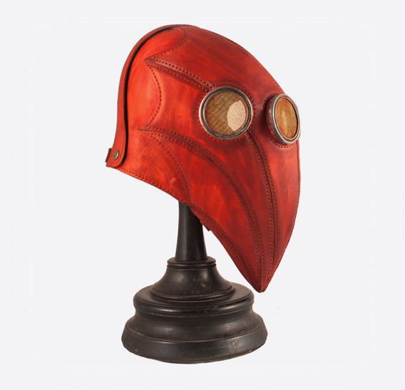 ΣΑΛΩΜΗΣ bag Red Plague Doctor Art Leather Mask