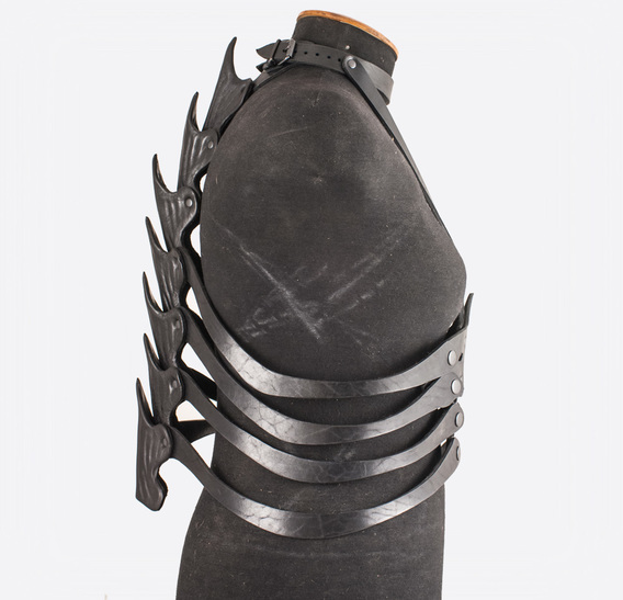 Black Dragon Spine Belt