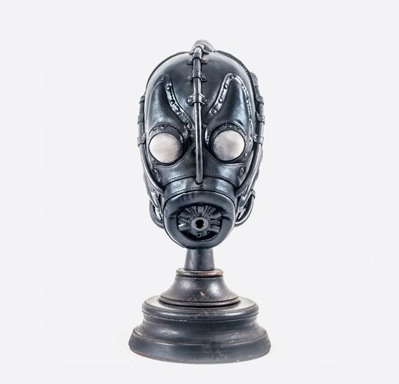 """Leech"" Art Leather Gas Mask"