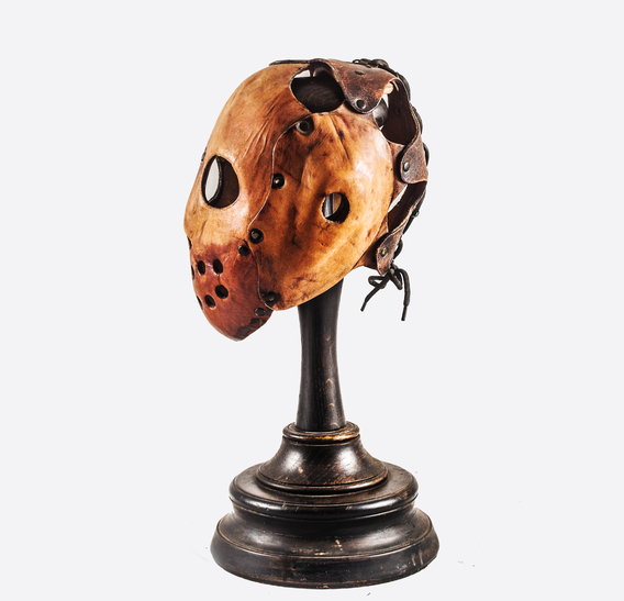 Fighter Art Leather Mask