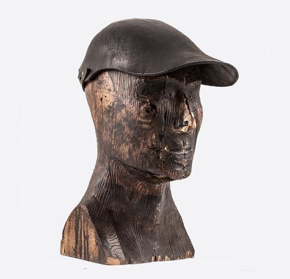 GARA art leather Cap