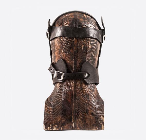 GARA 3 lines art leather Muzzle
