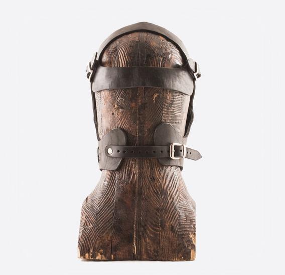 GARA art leather Grin Muzzle