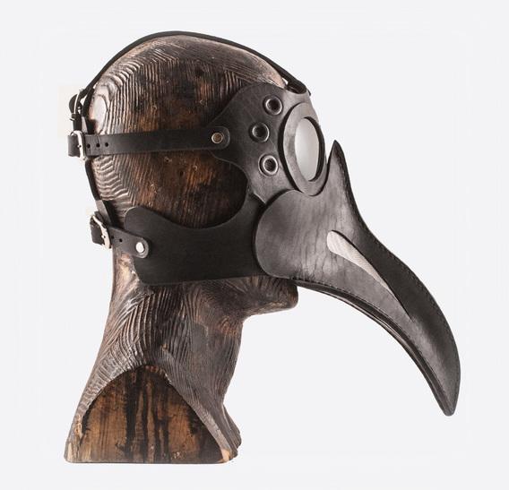 GARA Plague Doctor art leather Muzzle
