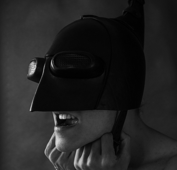 SSW Helmet Art leather Mask