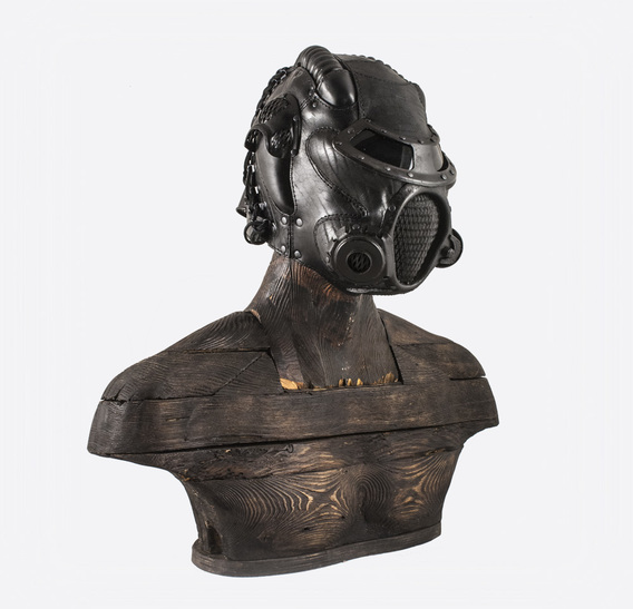 LSPM Art Leather Gas Mask