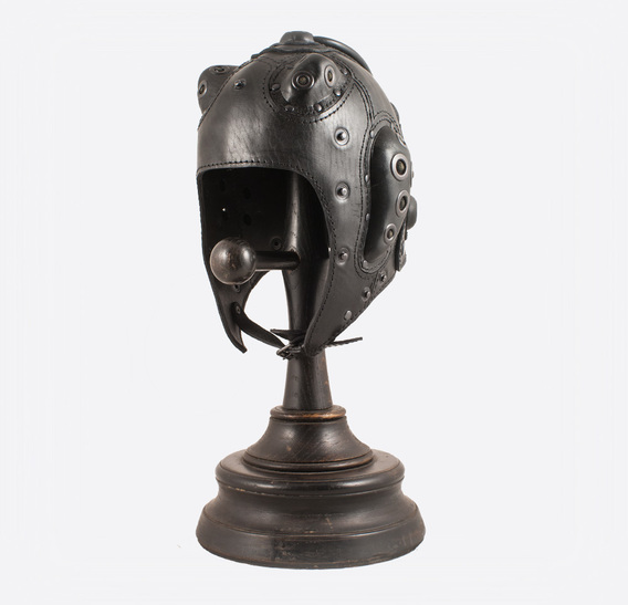 Tooth Monster Steampunk Leather Art Gasmask