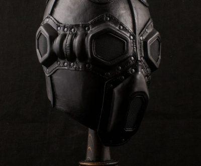 Deathwisher Leather Gas Mask