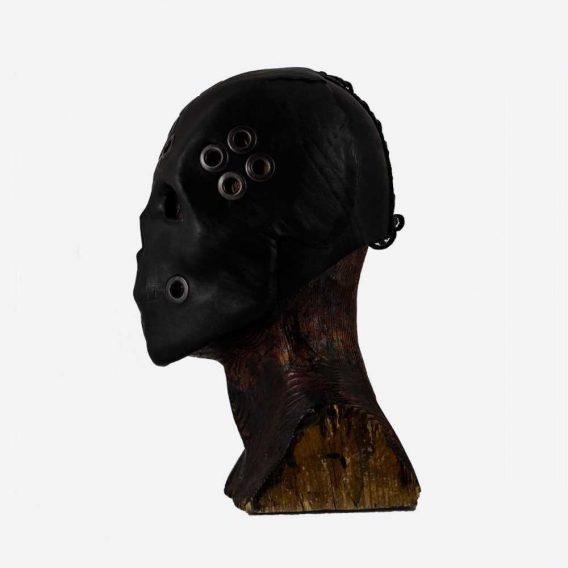 Technoshaman Black Skull Mask